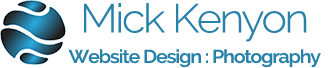 Mick Kenyon Website Design and Photography Logo